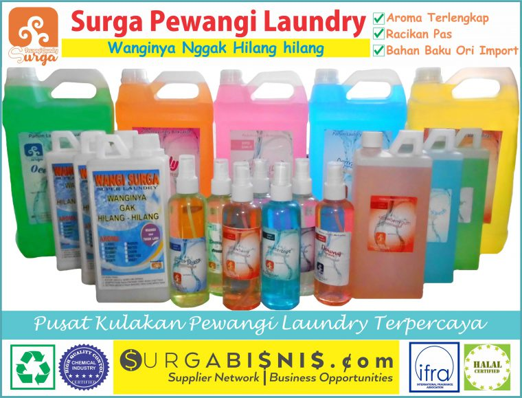 DISTRIBUTOR CHEMICAL LAUNDRY Tegal